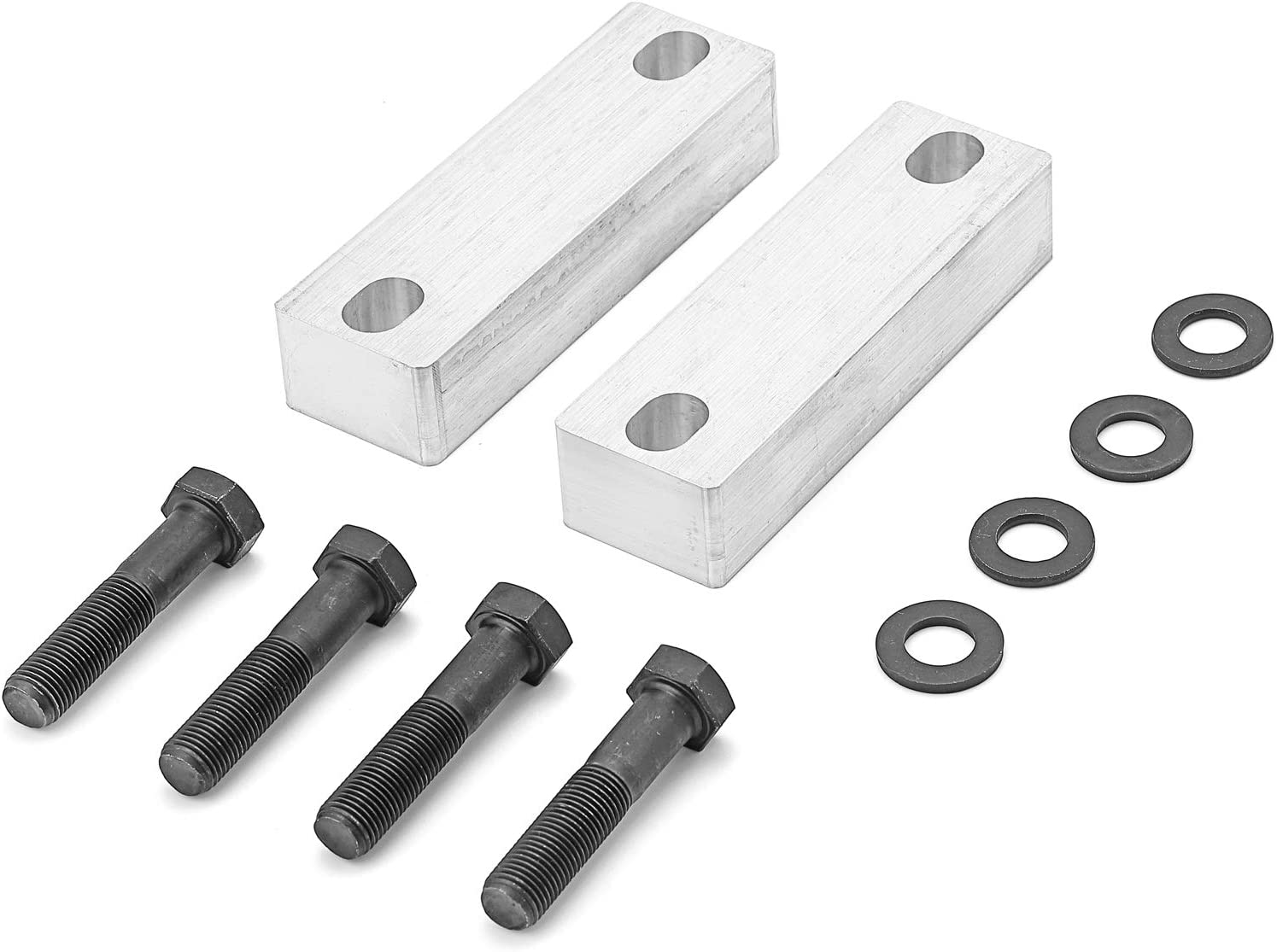 WeiSen T6 Billet Aluminum Sway Bar Drop Bracket for 2-4 Lift Compatible with Toyota Tundra 2007-2019 2WD /& 4WD