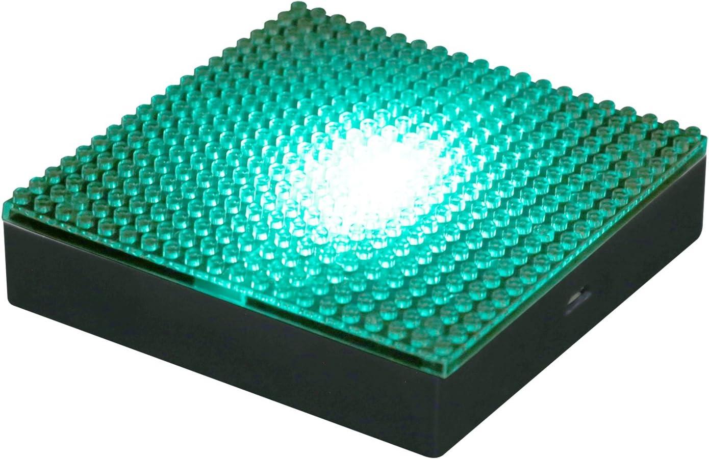 1 X Nanoblock Multi Color LED Model Display Base Plate