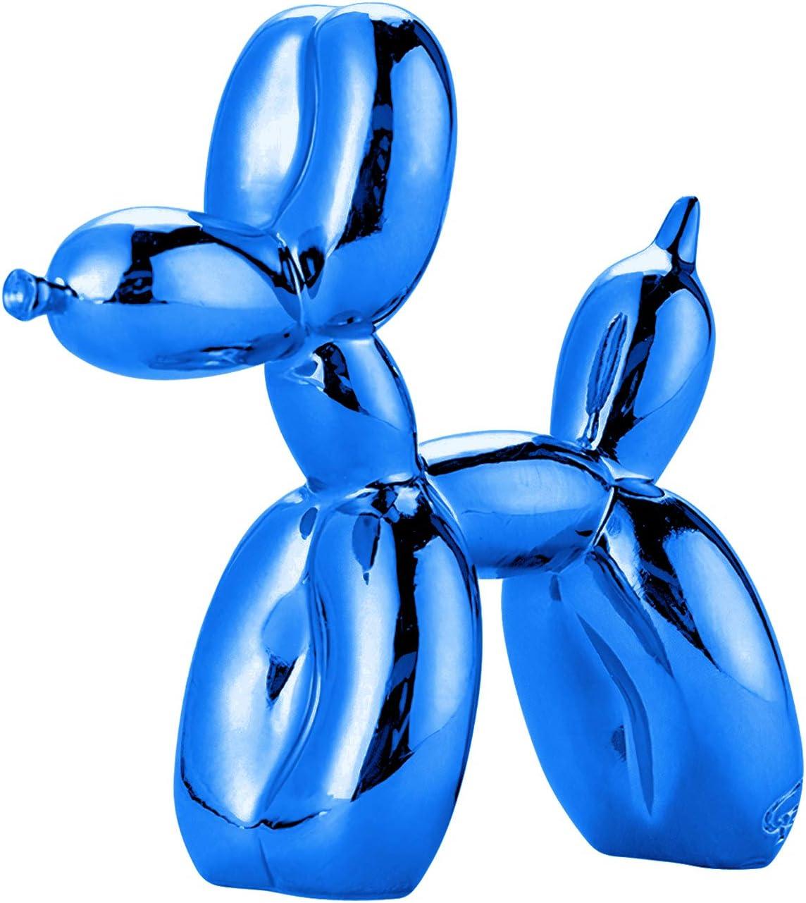 Green Tree Products Balloon Dog - Mini - Indigo - Animal Figurine - Art Sculpture