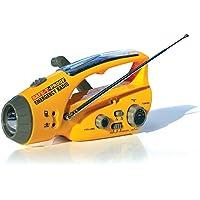 Safe-T-Proof - Set de emergencias (radio, linterna, balizay cargador solar de celulares), Modelo STP-ER-01