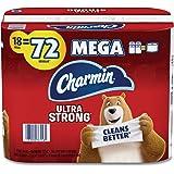 Charmin Ultra Soft Toilet Paper - 18 Mega Plus Rolls