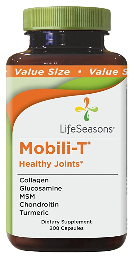 Buy LifeSeasons Mobili-T Value Size - 208 Capsules Online at Low ...