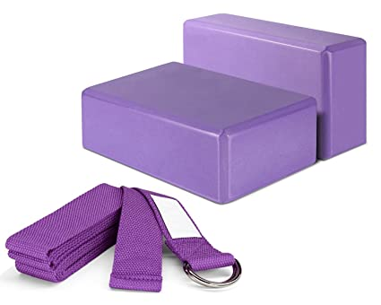 lokep correa de Yoga y juego de bloques para yoga (2 ...