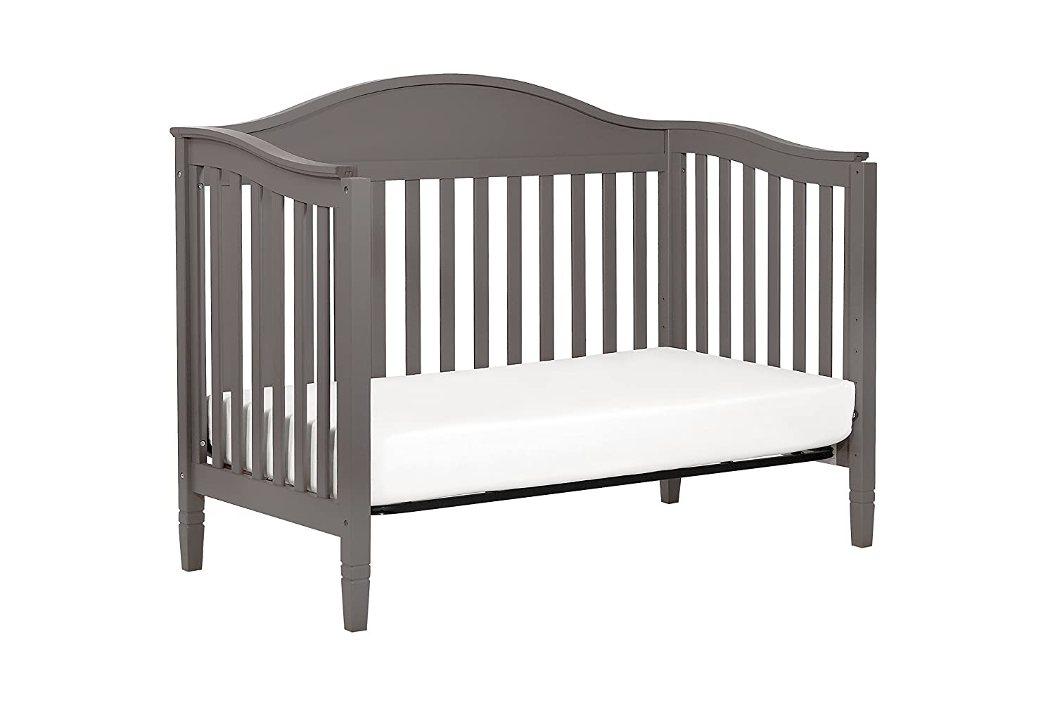 Amazon.com : DaVinci Laurel 4-in-1 Convertible Crib in Slate Finish : Baby
