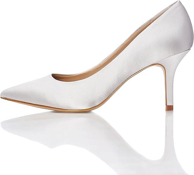 TALLA 37 EU. Marca Amazon - find. Mujer Zapatos de tacón con punta cerrada
