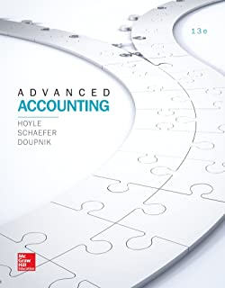 Amazon advanced accounting 9780078025402 joe ben hoyle looseleaf for advanced accounting irwin accounting standalone book fandeluxe Image collections