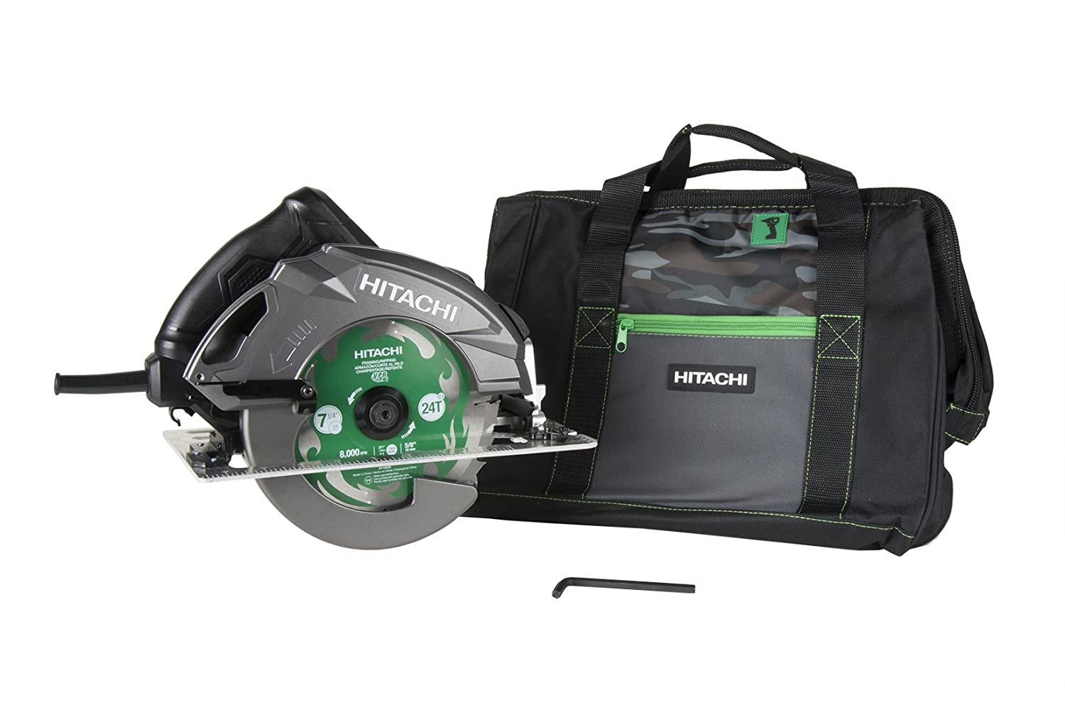 Hitachi C7BUR 7-1 4 Pro Circular Saw w Brake