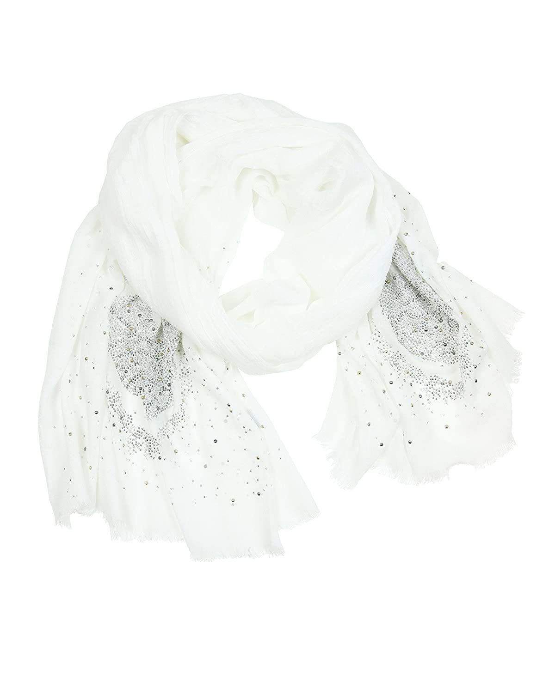 Frederic Ian Women's Scarf White