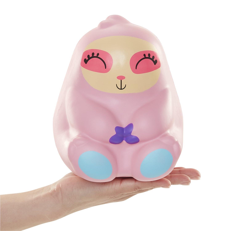 Squish Dee Lish Jumbo Sloath Squishy Jumbo Toy Squishies Slow Rising Sloath Soft Kids Toys Pink Sloath Series 1