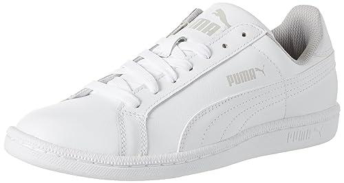Puma Smash V2 L, Zapatillas Unisex Adulto, Blanco (Puma White-Peacoat 2), 37.5 EU