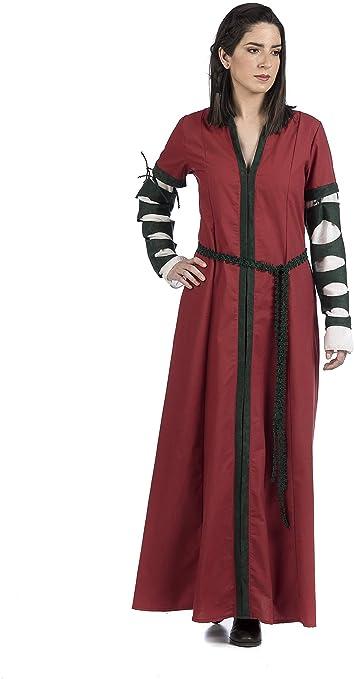 Disfraz Prime Disfraz Medieval de Mujer Beatrice DP - S: Amazon.es ...