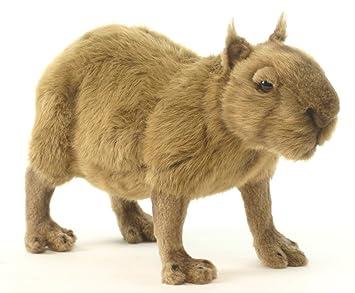 Plush Soft Toy Coypus/Capybara hy Hansa. 33cm. 5128 by Hansa