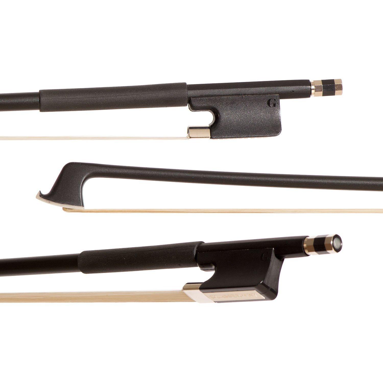 Glasser Standard Black Fiberglass 15-17 inch Viola Bow