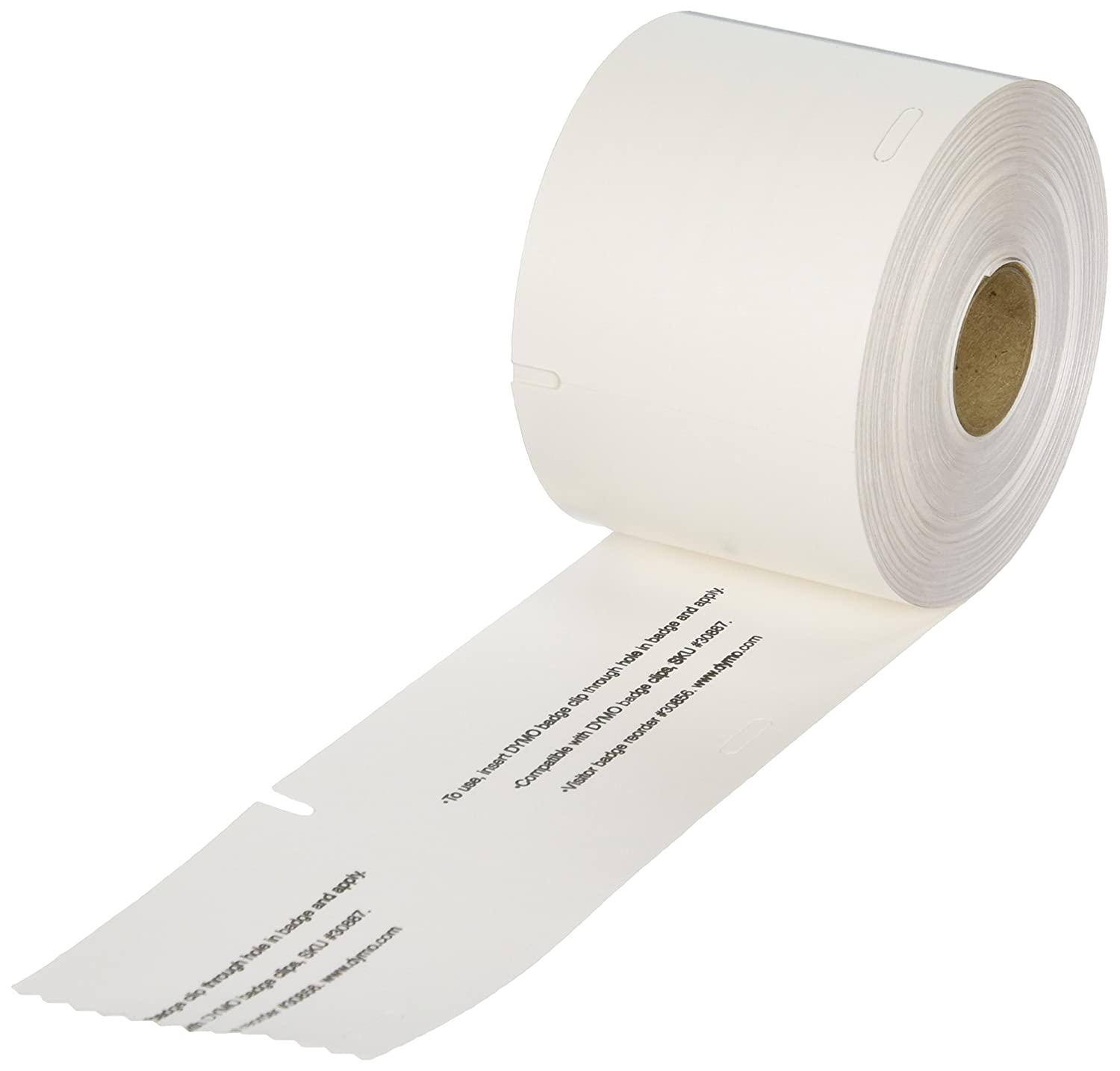 DYMO LW Book Spine Labels for LabelWriter Label Printers, White, 1'' x 1-1/2'', 1 roll of 750 (30347)