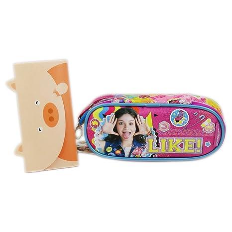 Disney Soy Luna Smile Bolsos Escolar Estuche para Lapices ...