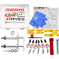 West Biking Professional Hydraulic Disc Brake Bleed Kit for All DOT Code5 Code R Juicy J3 J5 J7 Ultimate Elixir E1 E3 E5…