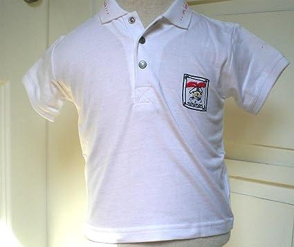Miniman bebé Polo de manga corta T-shirt con diseño de calavera ...