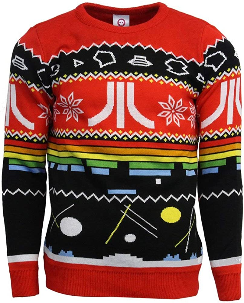 Numskull Official Atari Christmas Jumper//Ugly Sweater