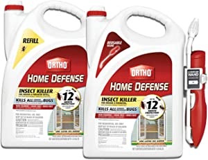 Ortho VB00029 Home Defense Insect Killer for Indoor & Perimeter2 and Refill Bundle, Comfort Wand & Refill