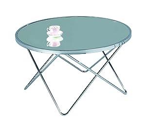 ASPECT Aspetto Porto, tavolino da caffè, Metallo, Cromo/Specchio