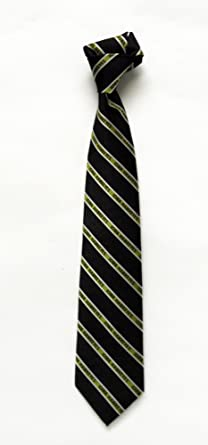NCAA Mens Iowa Hawkeyes Tone on Tone Necktie Black//Yellow