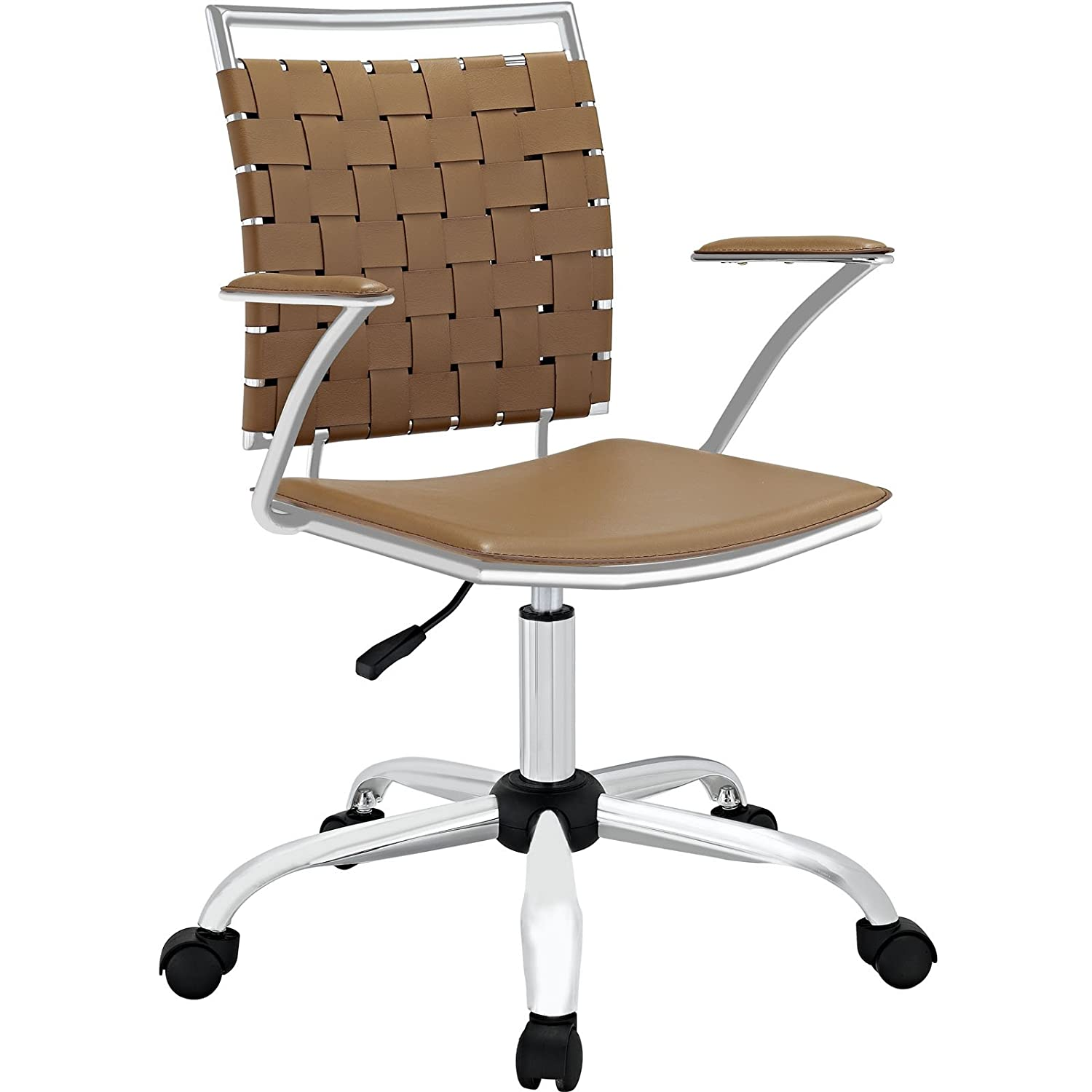Amazon Modway Fuse fice Chair Tan Chairs