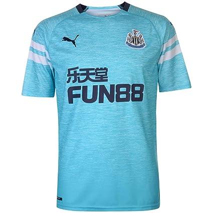 Amazon.com   PUMA 2018-2019 Newcastle Third Football Soccer T-Shirt ... 50b9b033b