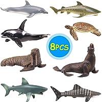 YIJIAOYUN 8 Piezas de océano Grande, Figura Animal