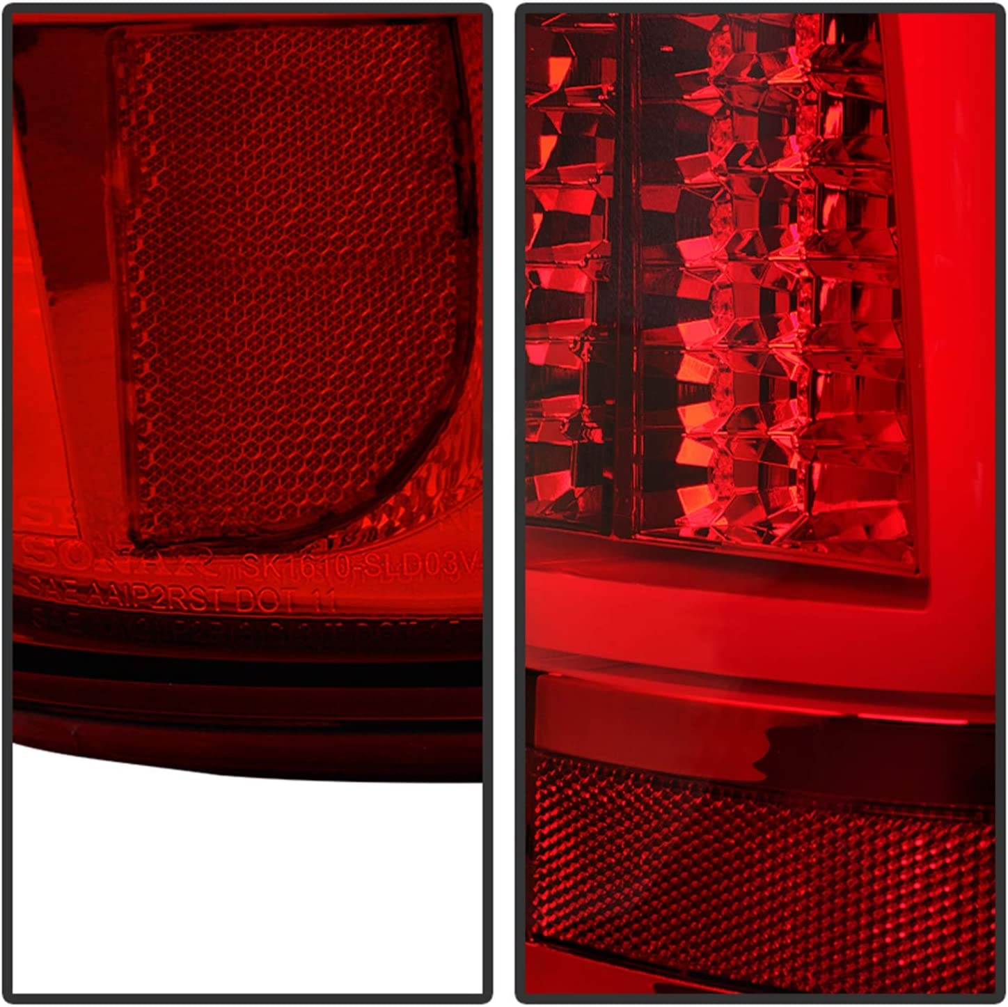 PartsChannel LX2804115C OE Replacement Tail Light