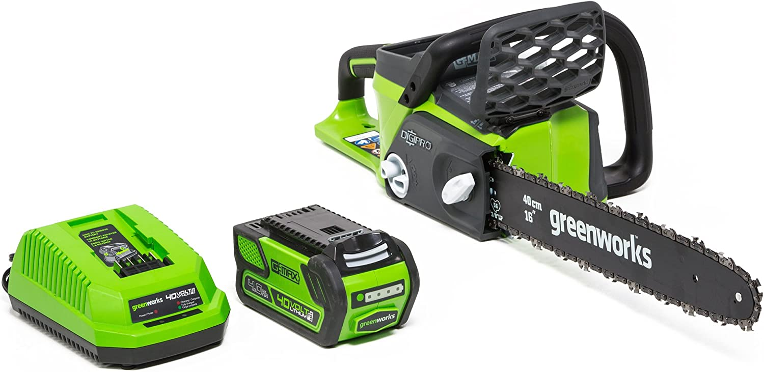 Greenworks G-MAX 40V, Top Electric Chainsaw 2020