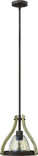 Fredrick Ramond FR40577IRR One Light Mini-Pendant