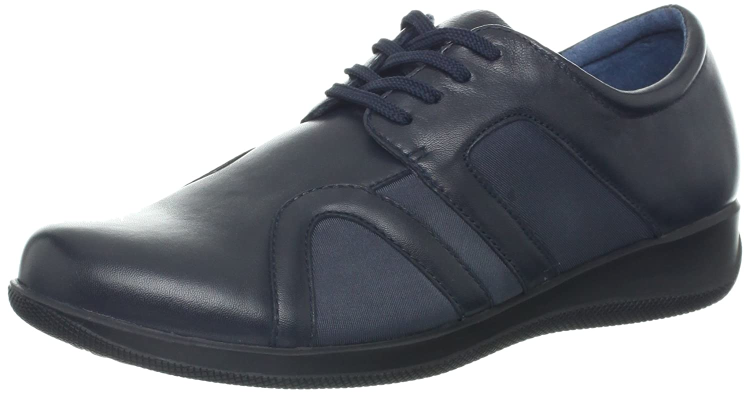 SoftWalk Women's Topeka Flat B00BFYPPXM 8 B(M) US|Navy