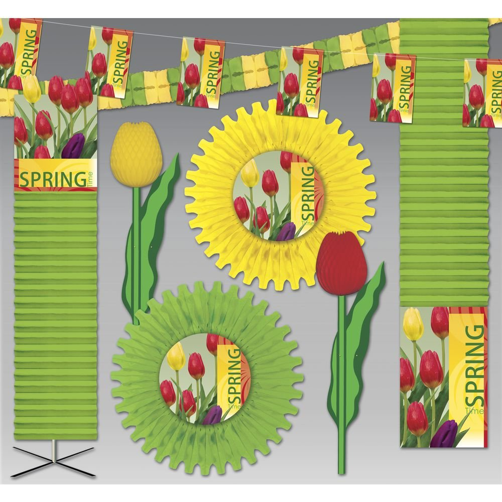 Spring Decoration Kit 3000 sq ft Signs of Spring Deluxe Crepe Kit by Hubert