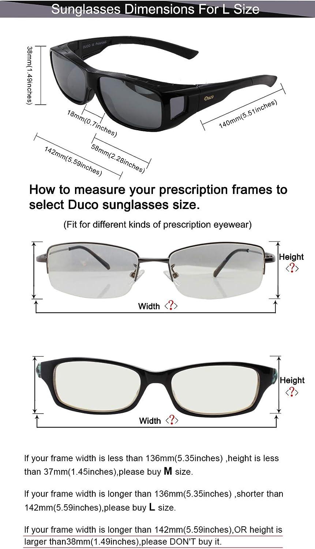 Amazon.com: DUCO 8953 - Gafas de sol polarizadas HD unisex ...