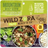 Wild Zora - Paleo Meals to Go - Freeze Dried, Lightweight, Paleo Meals for Backpacking, Camping, and on The Go