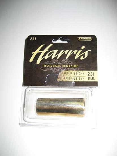 SLIDES GUITARRA ELECTRICA - Dunlop (Mod.231) (Laton Macizo) (Harris
