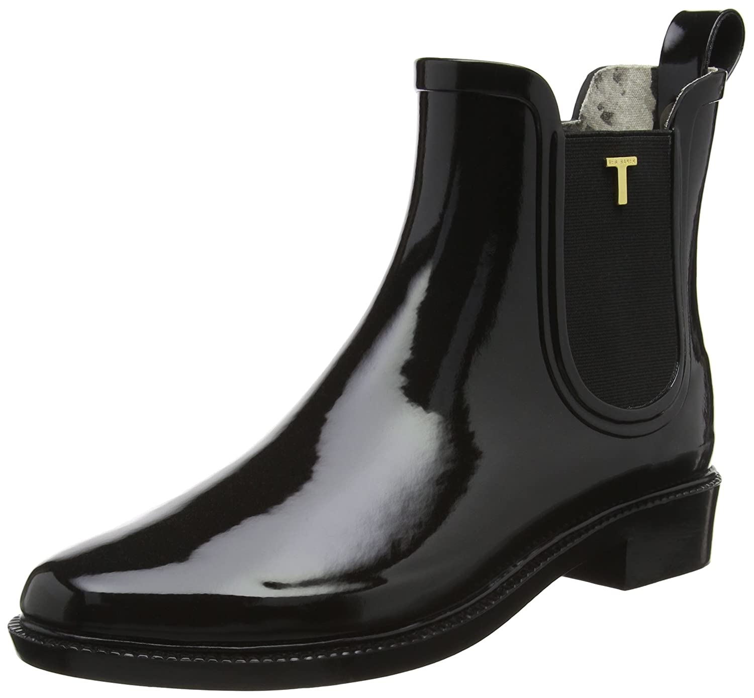 342d34014fa43c Ted Baker Womens Black Lyran Chelsea Welly Boots  Amazon.co.uk ...