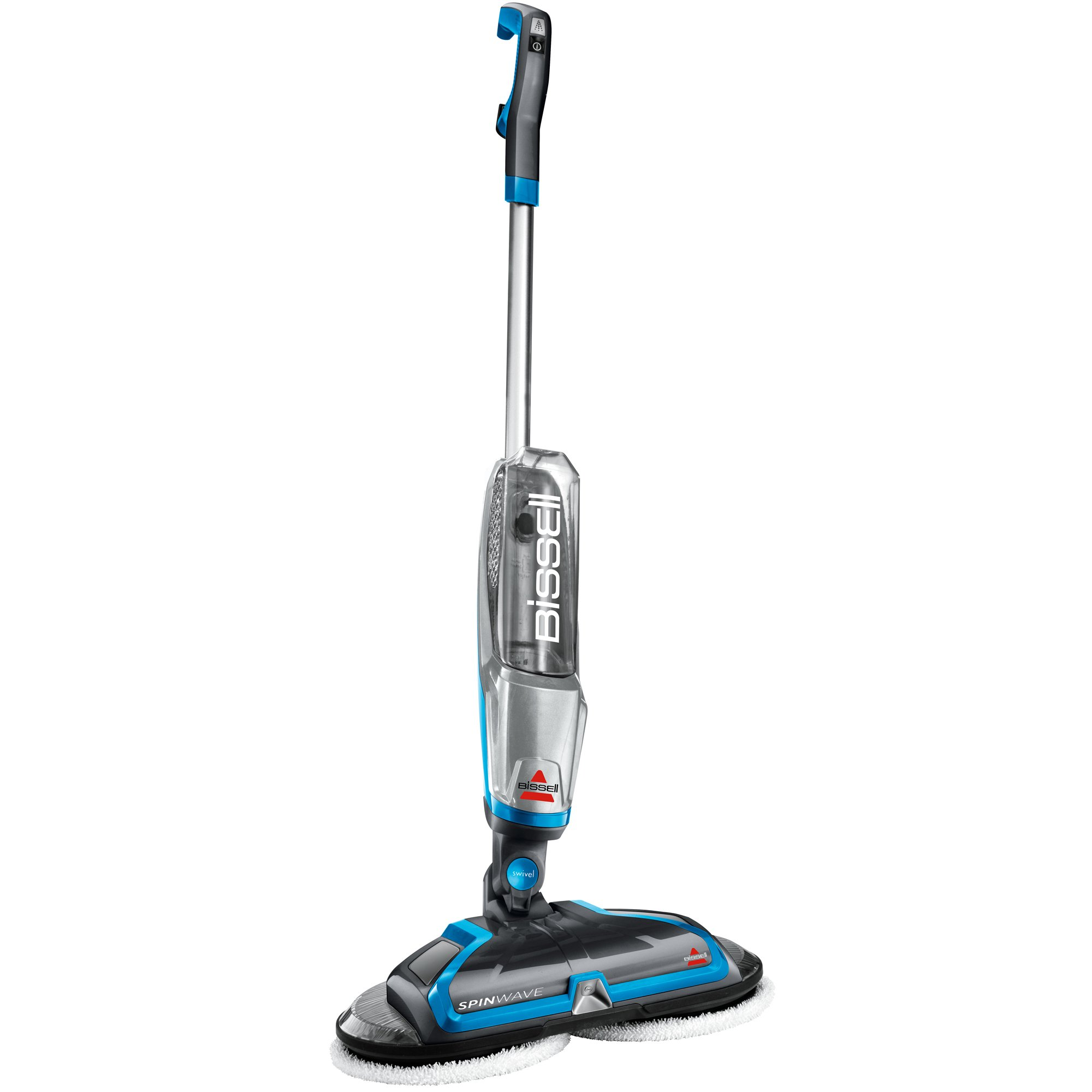 BISSELL Spinwave Plus Hard Floor Cleaner and Mop, Silver