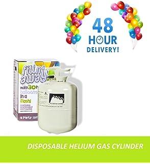 Helium King Large Gas Bottle / Cylinder - Fills 50 9inch