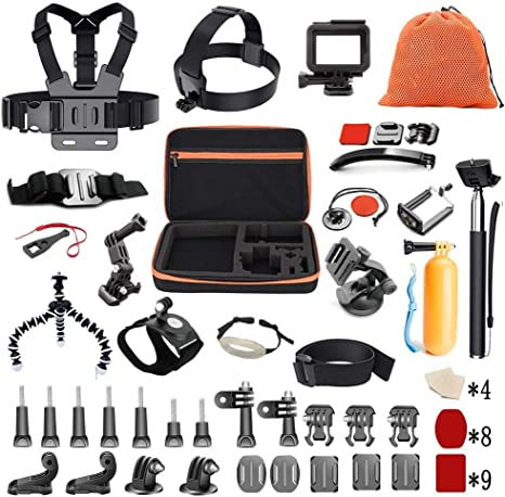 Pieviev Kit de Accesorios para Gopro HERO5 Negro (60 + Items ...