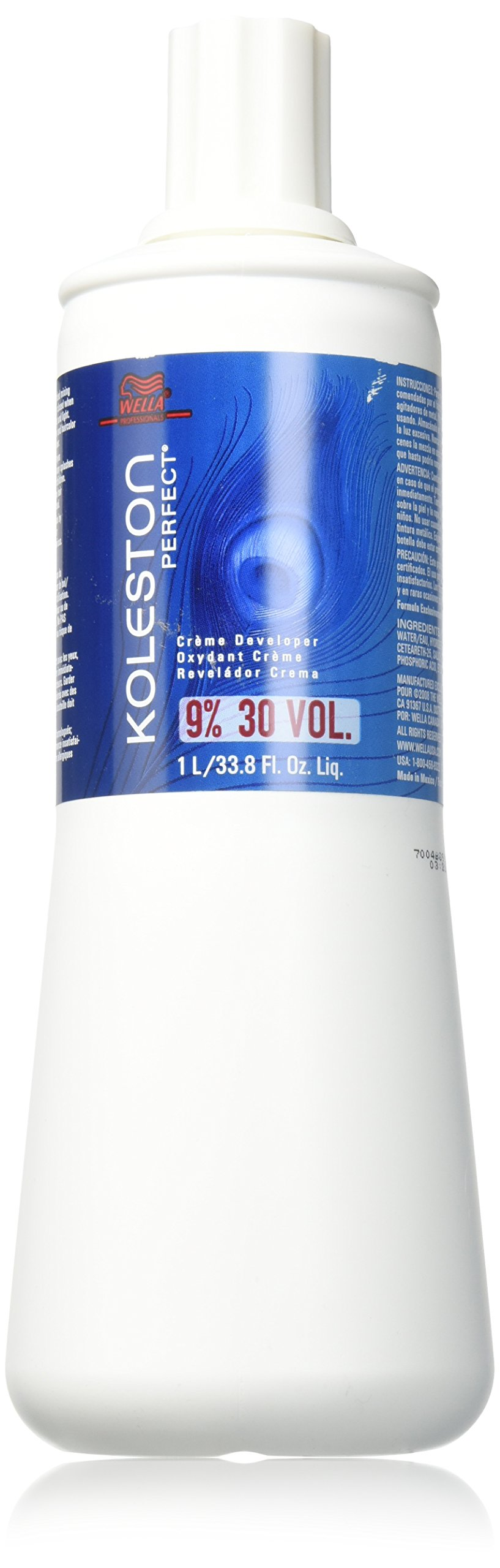 Wella Koleston Perfect 30 Vol Creme Developer, 33.8 Ounce