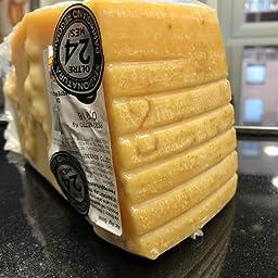 Parmesano Reggiano queso tradicional añejado 24 meses 1 Kg CASEINUS - Denominación de Origen Protegida (Parmigiano Reggiano DOP 24 mesi): Amazon.es: Alimentación y bebidas