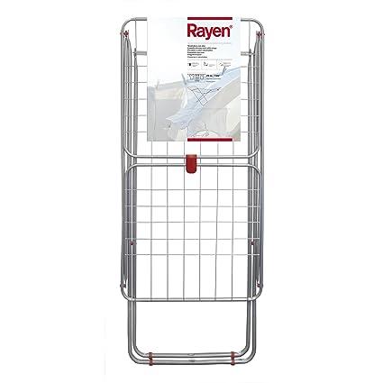 Rayen 0333-Tendedero con alas, Metal, Gris, 19 Metros