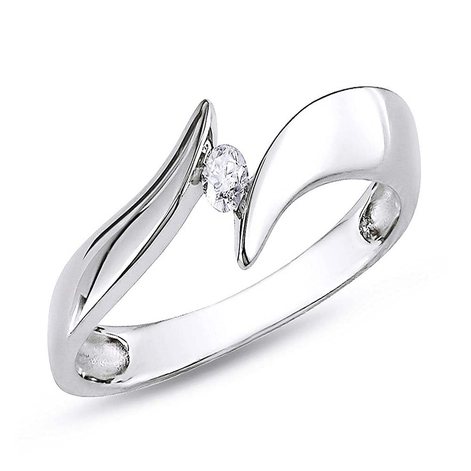 st bling ring engagement silver bridal wedding set jewellery rings rset jewelry cz solitaire