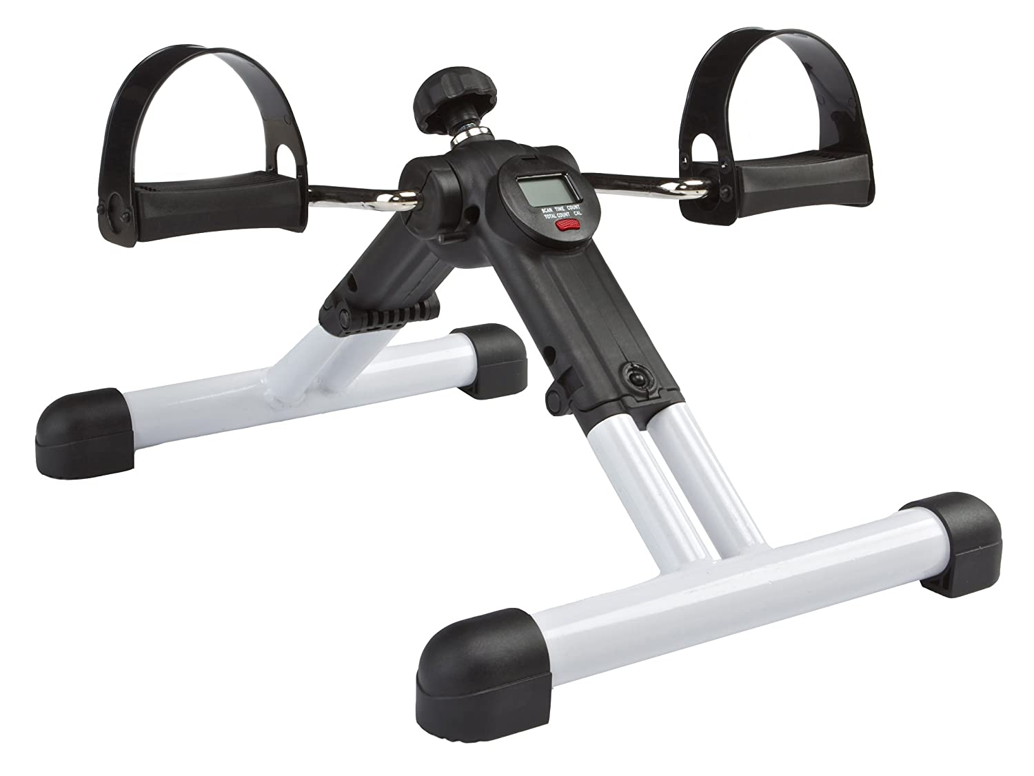 Beau Amazon.com: BetaFlex KH519 Portable Dual Exercise Bike Fully Assembled And  Yet Foldable With Pedometer, White: Sports U0026 Outdoors