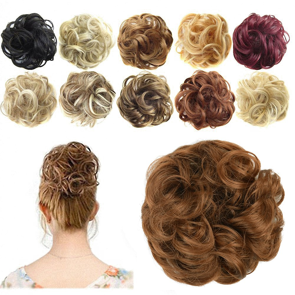 Ready made hair buns in india