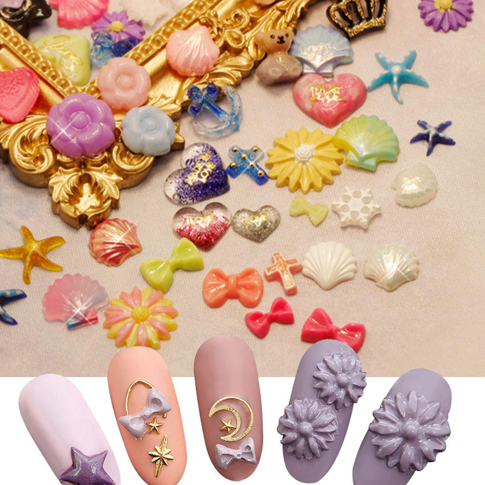 3D Silicone Mold Nail Stamping Nails Carving Stamping Plate Nail Art Template UV Gel Polish Manicure Mould DIY Tools Bear Flower carving template by Vonrui