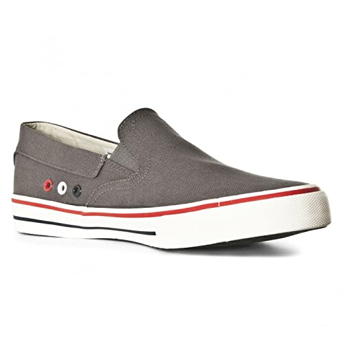 Tommy HilfigerV2385ic 3d - Zapatillas Hombre , color gris, talla 47 EU: Amazon.es: Zapatos y complementos