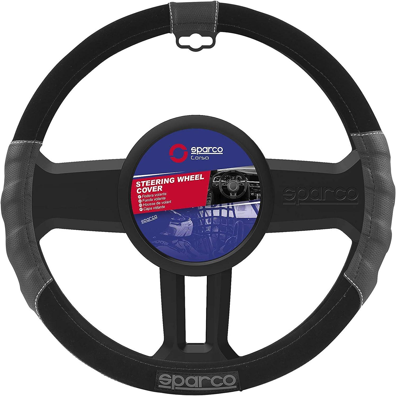 Sparco SP 90110 Funda DE Volante SPC L-Sport Negra