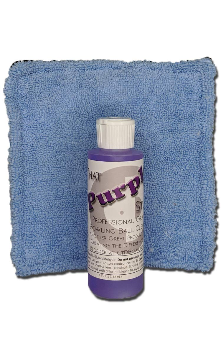 Creating the Difference That Purple Stuff Bowling Ball Cleaner Starter Kit | 4 oz by Creating the Difference
